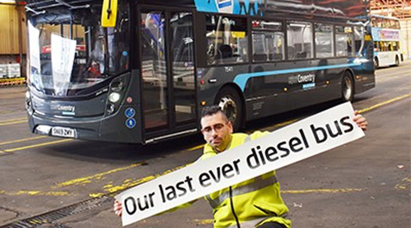 National Express aims to lead the way on zero emission buses and coaches