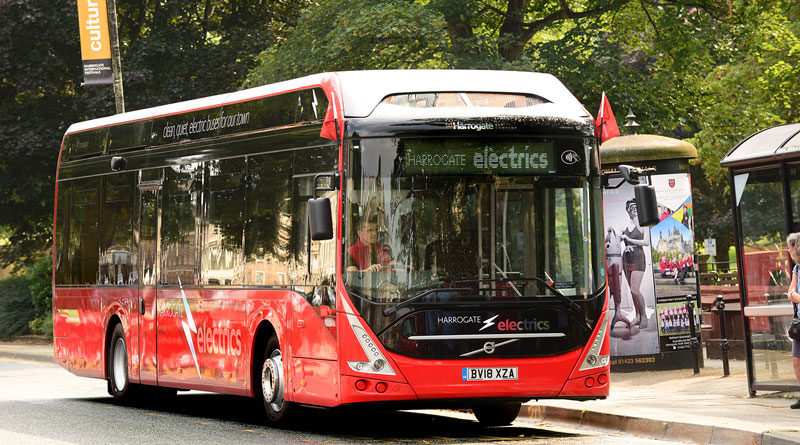 All-electric bus town plans from DfT