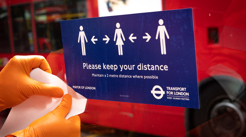 TfL increases services but urges use of buses and trains only if no other option