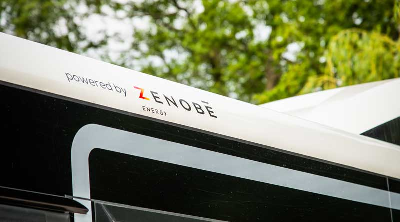 Abellio's first electric buses in London enter service in partnership with Zenobe