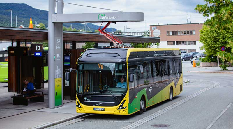 Norwegian cities invest in Volvo electric buses
