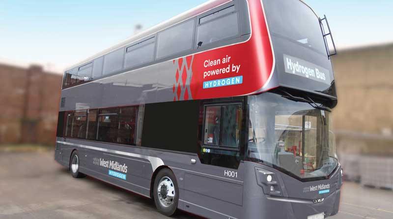 Wrightbus hydrogen buses for Birmingham
