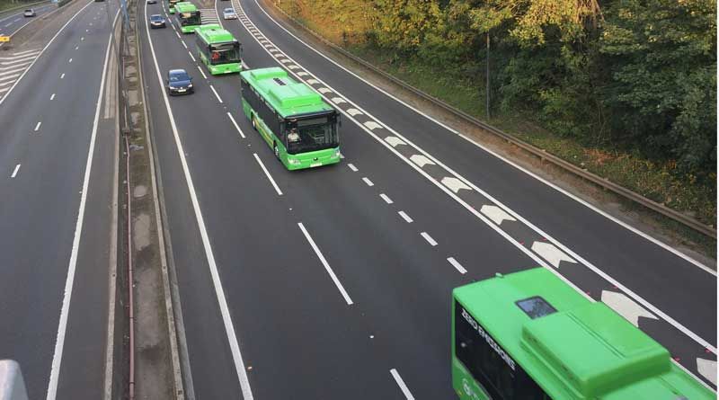 Newport sees Yutong electric go into service