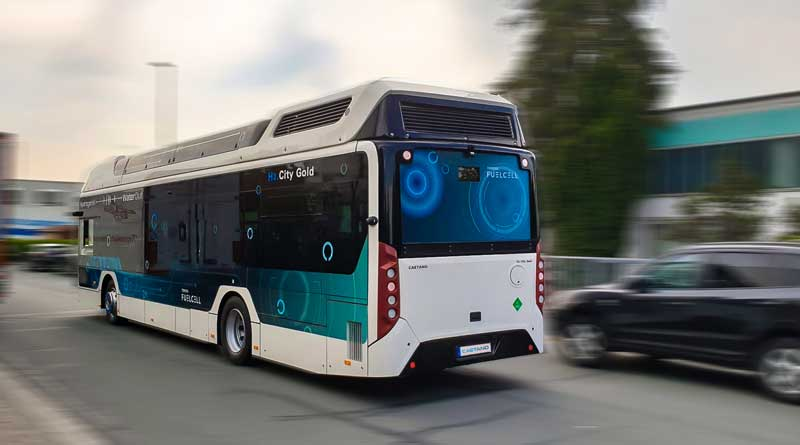 TMB Barcelona to take eight Caetano hydrogen buses