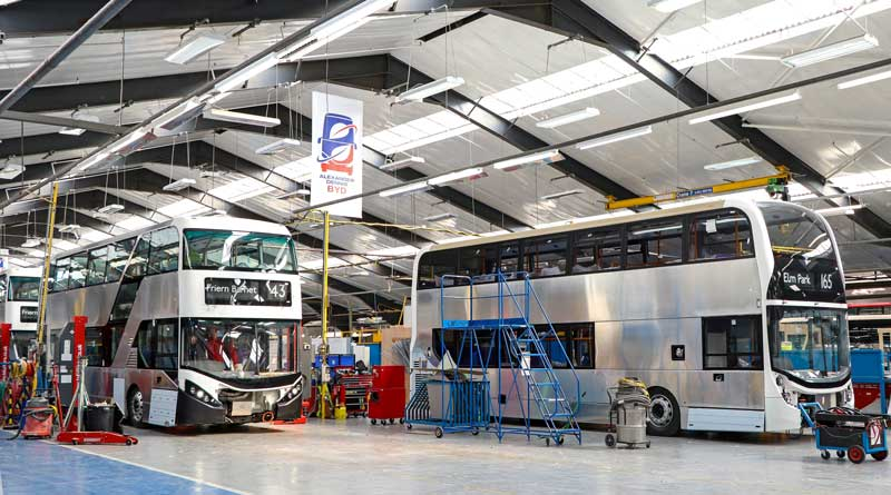 BYD and ADL move to assembly of electric bus chassis in the UK