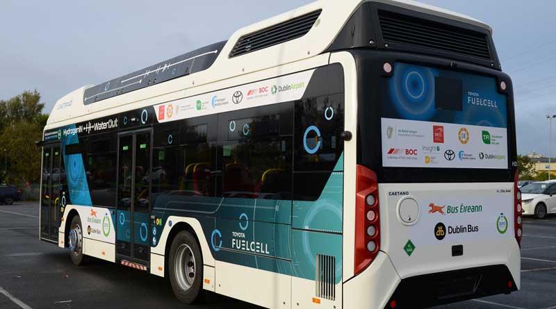 Successful Caetano hydrogen bus trial in Dublin