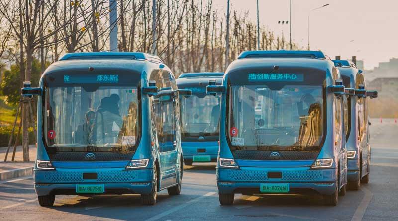 Yutong autonomous buses city-wide pilot in Zhengzhou