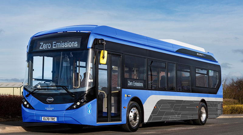 Big boost for zero emission buses in Scotland and England