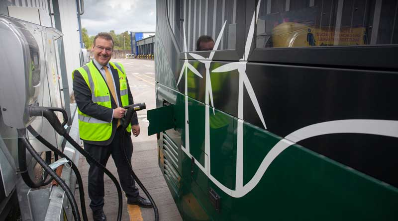 First Bus to transform Caledonia depot into UK's largest EV charging station